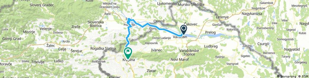 2017.05.18 Croatia and Slovenia | Varaždin to Krapina