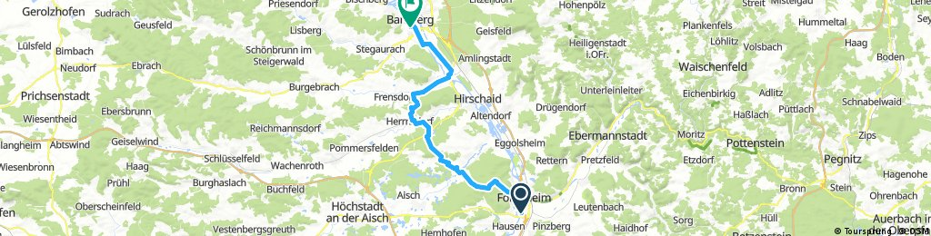 Second afterwork bicycle tour 2017
