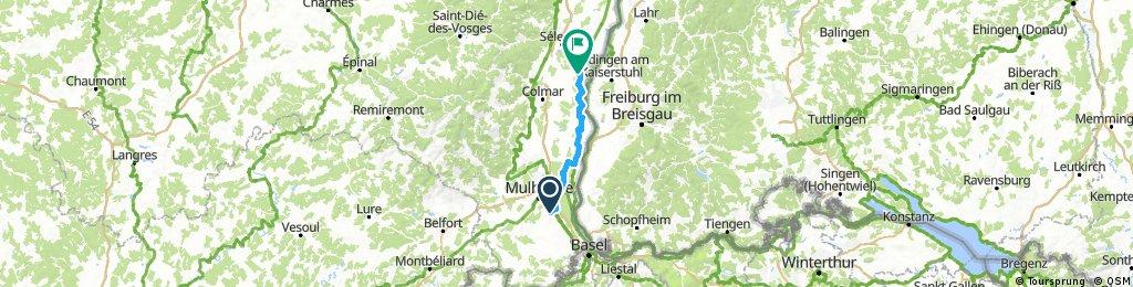 Elsass-Route