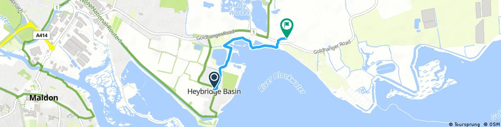 Short bike tour through Maldon