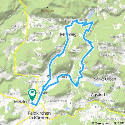 Waiern - Buggl in Bach - Lawesen - Niederwinklern - Waiern