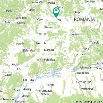 Burkos-Holcmany-Oltszakadat-Avrig-Kerc-Martonhegy-Szaszhaz-Kurpod-Agota-Bur
