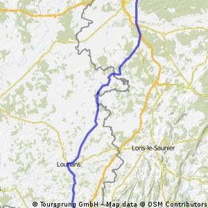 Rochefort-sur-nenon bis Saint-Nizier