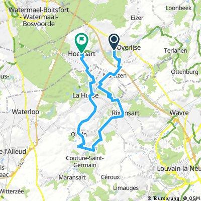 Hoeilart-Lasne-Hoeilart