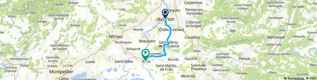 Avignon - St. Remy - Arles