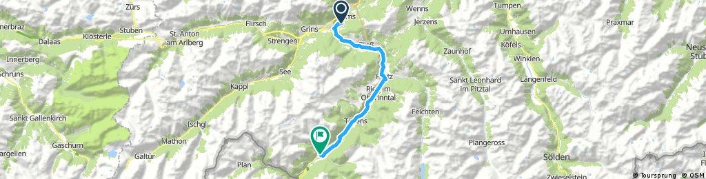 Etschradweg 2017 1. Etappe.gpx