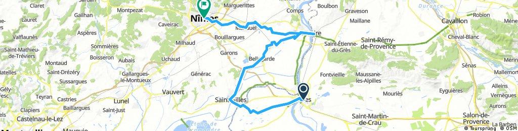 Arles - St. Gilles - Tarascon - Nimes