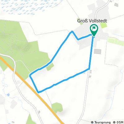 Schnelle Radrunde durch Groß Vollstedt
