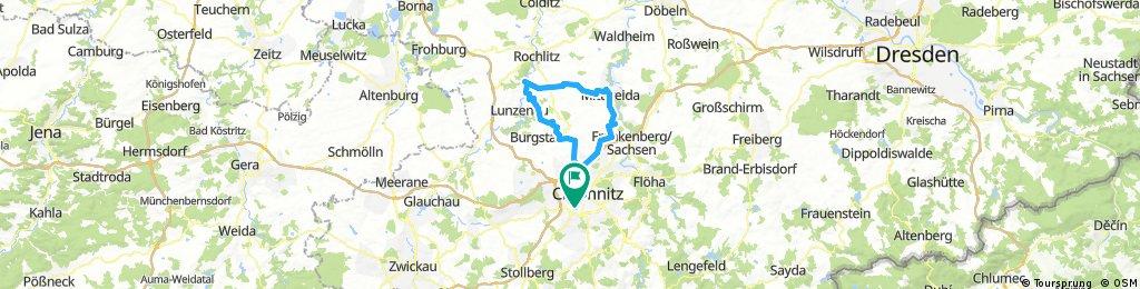 RK Chemnitz - Wechselburg - Mittweida