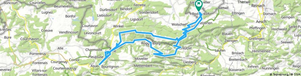 69km Bike R'dorf-G'berg-Pt_Kohlberg-Grande Roche-Habschelle