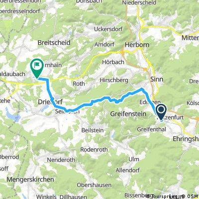 Heisterberger Weiher Tour