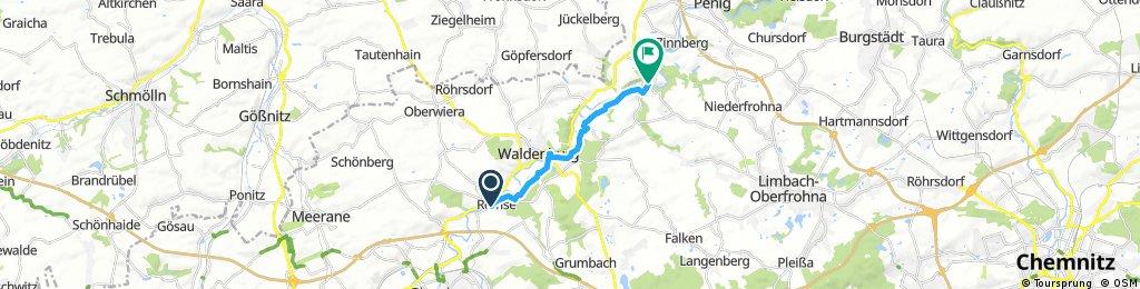 Muldenradweg / Remse - Wolkenburg