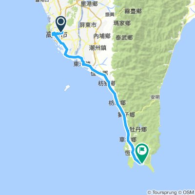 20170707 Taiwan Cycling Day 6