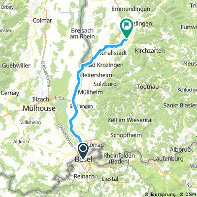 RT - Basel to Freiburg
