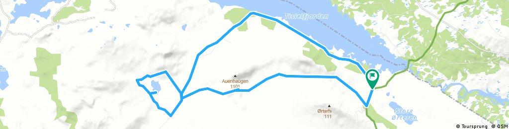 Vesle Golsfjellrunden med Lauvsjøen rundt