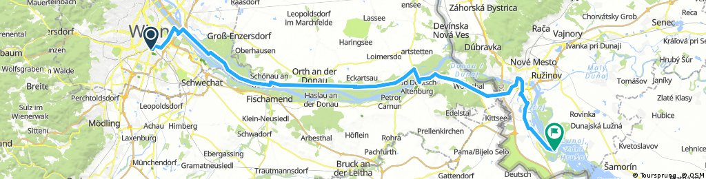 Tour de Bałkany 2017 dzień 1