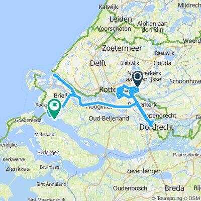 🇳🇱 HB D04 - Rotterdam + Dordrecht + Port (54km)