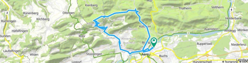 Radrunde durch Aarau