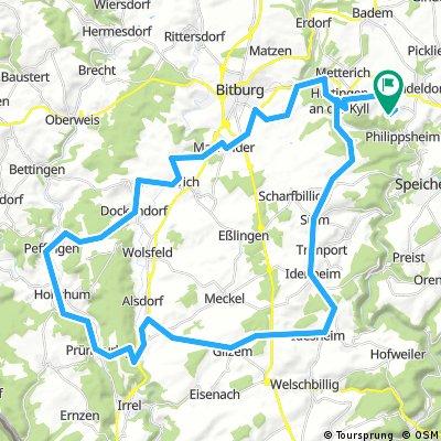 Gondorf, 63 km, 1000 hoogtemeters