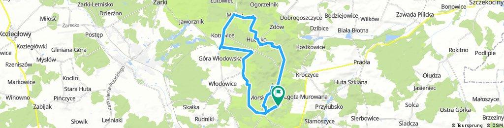 Piaseczno - Mirów - Piaseczno