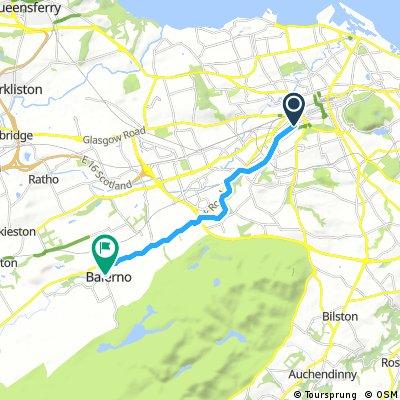 Cycling to Balerno