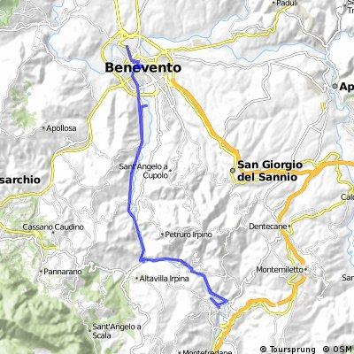 Benevento - Tufo - Prata di Principato Ultra