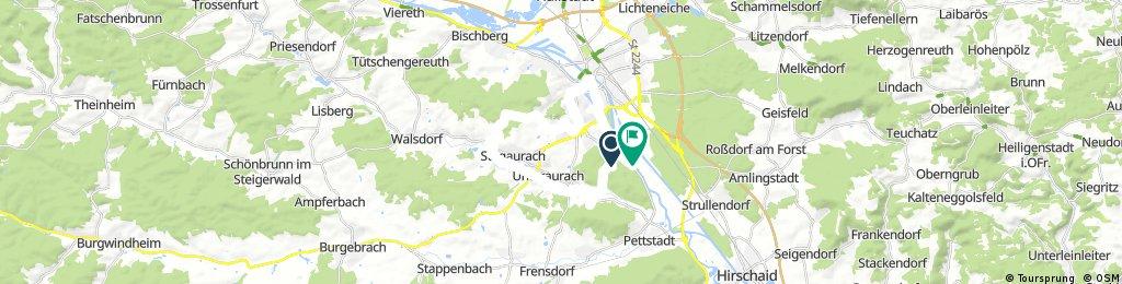 Radrunde durch Bamberg