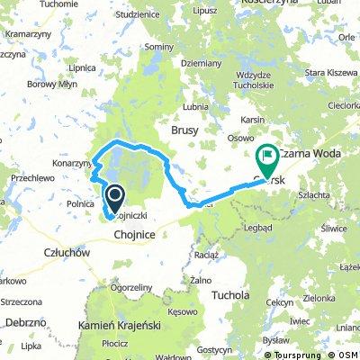 Kaszubska Marszruta (szlak rowerowy, żółty)