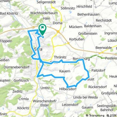 Gera -Reust-Ronneburg -Gera