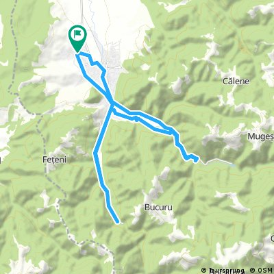 Ride through Cugir