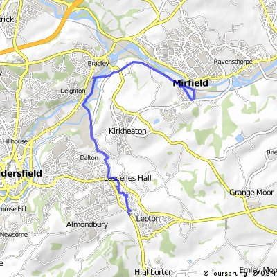 Mirfield Out and Back