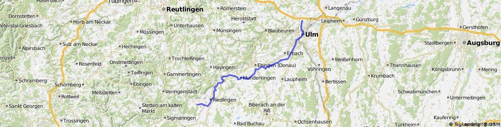 Heiligkreuztal Donauradwanderweg