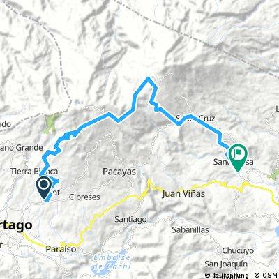 Volcano trail, Irazu- Turrialba