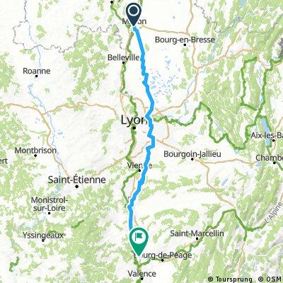 Dag 5 - Tournon-sur-Rhône