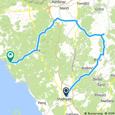 Vodnjan - San Polo/Colone (all bikes)