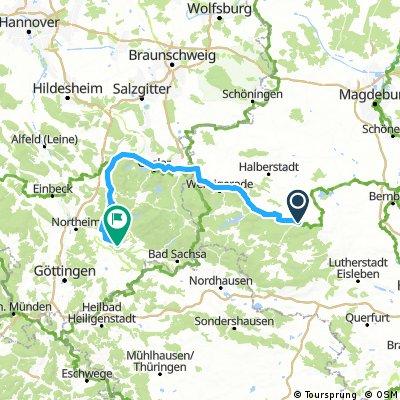HARZ 002: Harzumrundung in 2 Tagen - 2. Teil