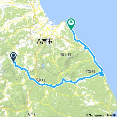 Nanbu Dragon Tower to Tanesashi