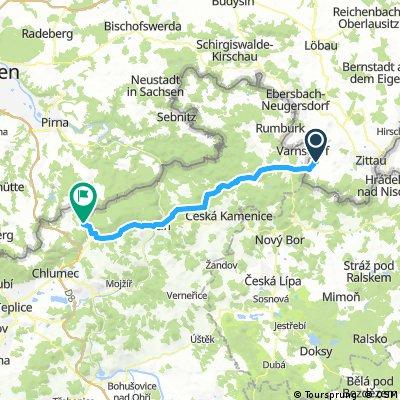 Großschönau/Oberlausitz - Tisa/Elbsandsteingebirge