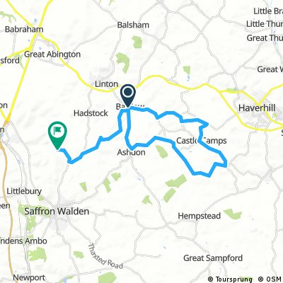 Arecor cycle challenge ride 1