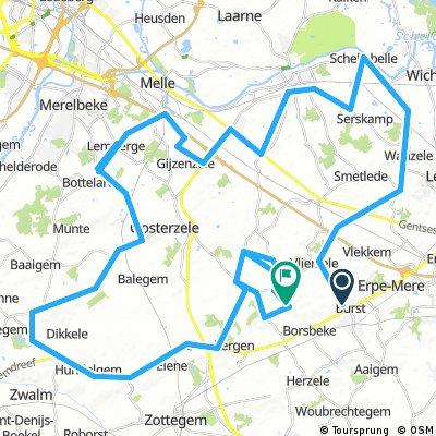 Ronde van Oost-Vlaanderen Rit 2b: Burst-Sint-Lievens-Houtem