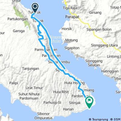 Lake Toba MTB Day 4 Tuk Tuk to Onan Runggu