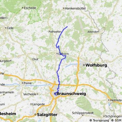 Radwandern: Braunschweig - Gifhorn - Schönwörde