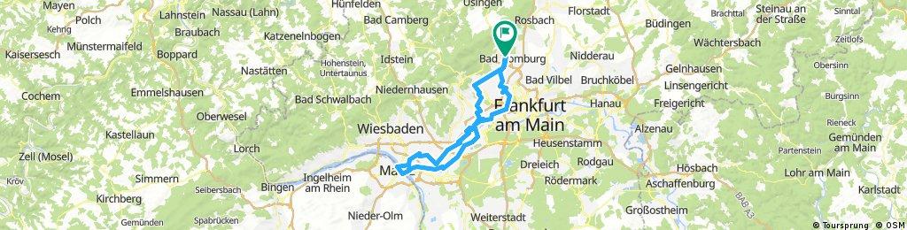Lonely rider Rundreise an den Rhein