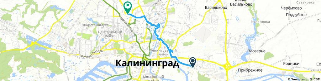 Short bike tour from 25 мая, 18:19