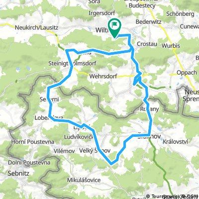 Lange Radrunde durch Wilthen