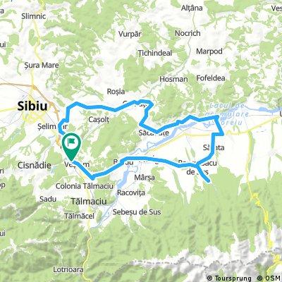 Vestem - Cornatel - Sacadate - Scoreiu - Valea Zanelor - Vestem