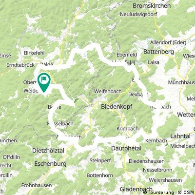 Edertal-Hinterland-Lahntal-Banfetal