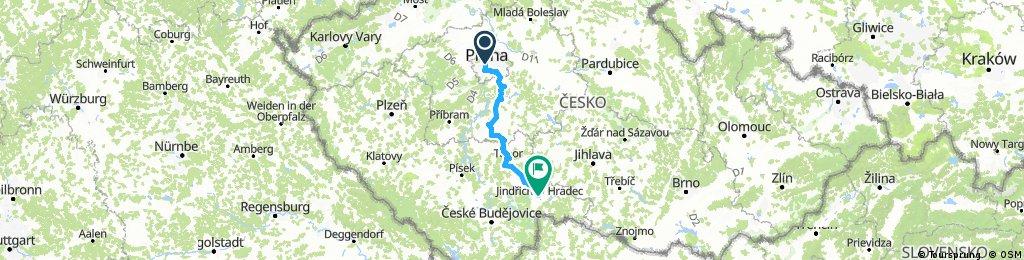 Prag - Jindřichův Hradec