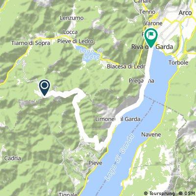 MTB GARDA DAY 2 (part1) Tremalzo-Limone sul Garda - Riva del Garda