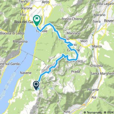 MTB Garda Day 3 (part 2) - Malcesine - Loppio -Torbole